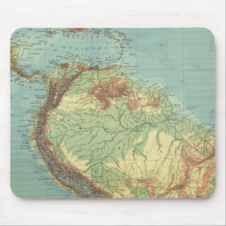 South America 14 Mouse Pad