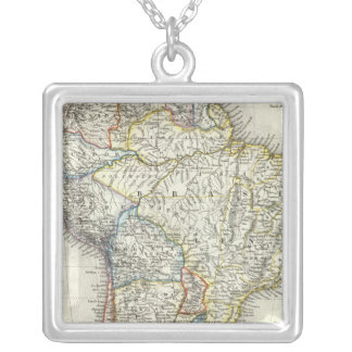 South America 17 Silver Plated Necklace