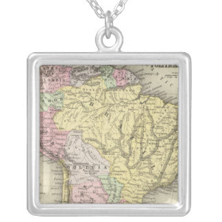South America 18 Silver Plated Necklace