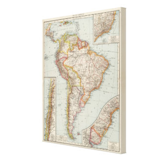 South America 20 Canvas Print