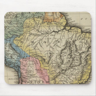 South America 24 Mouse Pad