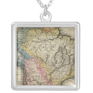 South America 24 Silver Plated Necklace