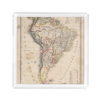 South America 25 Acrylic Tray