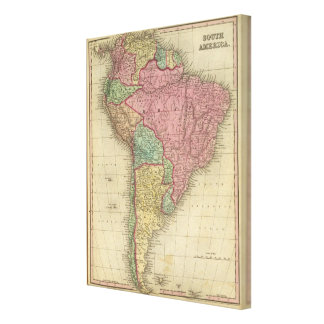 South America 25 Canvas Print