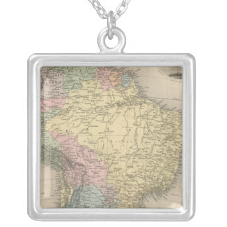 South America 26 Silver Plated Necklace