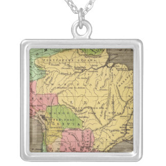 South America 27 Silver Plated Necklace