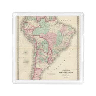 South America 2 Acrylic Tray