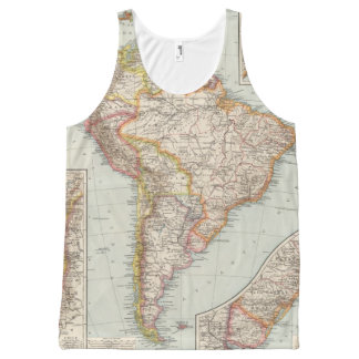 South America 2 All-Over Print Tank Top