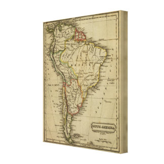 South America 2 Canvas Print