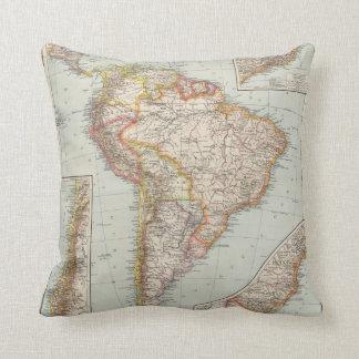 South America 2 Cushion