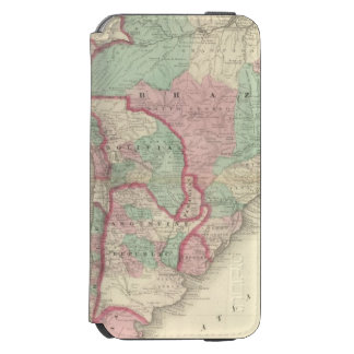 South America 2 Incipio Watson™ iPhone 6 Wallet Case