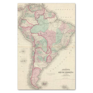 South America 2 Tissue Paper