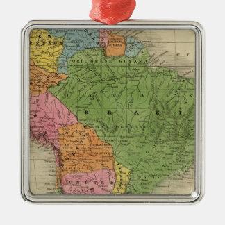 South America 30 Christmas Ornament