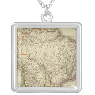 South America 31 Silver Plated Necklace