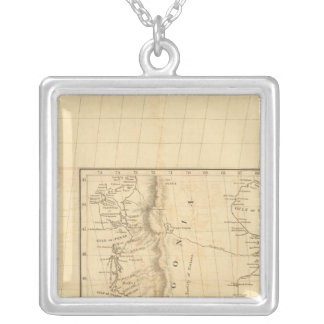 South America 33 Silver Plated Necklace
