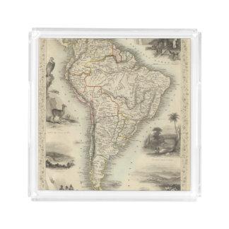 South America 35 Acrylic Tray