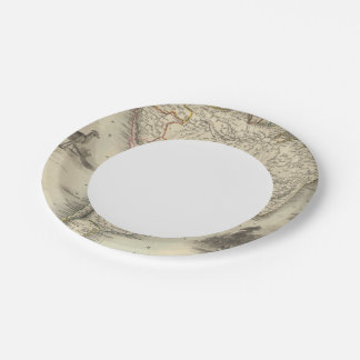 South America 35 Paper Plate