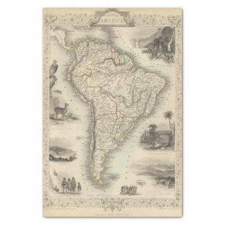 South America 35 Tissue Paper