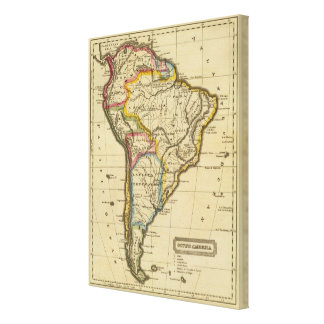 South America 3 Canvas Print