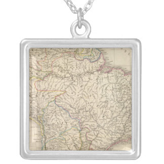 South America 41 Silver Plated Necklace