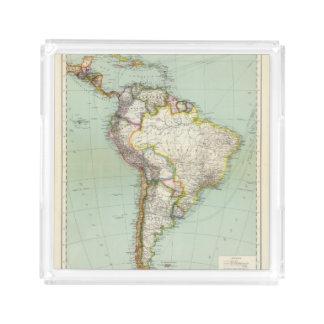 South America 42 Acrylic Tray