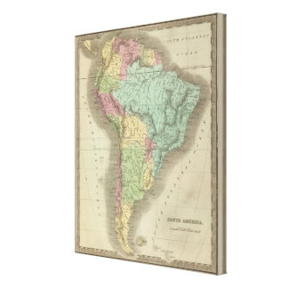 South America 42 Canvas Print