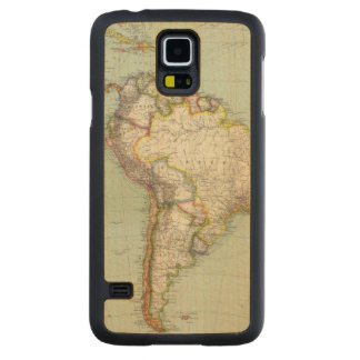 South America 42 Carved Maple Galaxy S5 Case