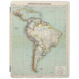 South America 42 iPad Cover