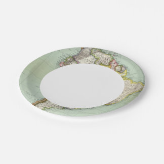 South America 42 Paper Plate
