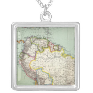 South America 42 Silver Plated Necklace