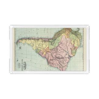 South America 43 Acrylic Tray