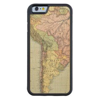 South America 43 Maple iPhone 6 Bumper Case