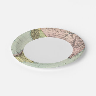 South America 43 Paper Plate