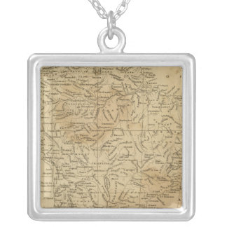 South America 44 Silver Plated Necklace