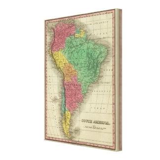 South America 4 Canvas Print