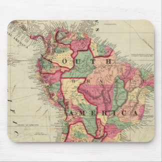 South America 4 Mouse Pad