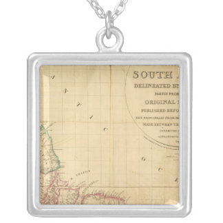 South America 5 Silver Plated Necklace