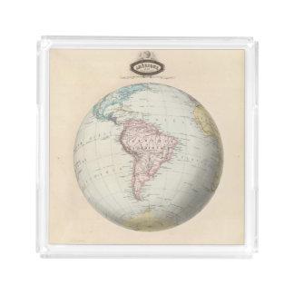 South America 6 Acrylic Tray