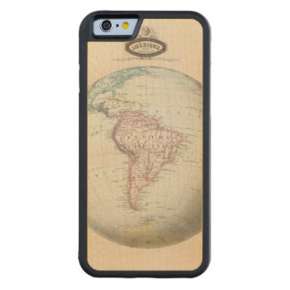 South America 6 Carved® Maple iPhone 6 Bumper