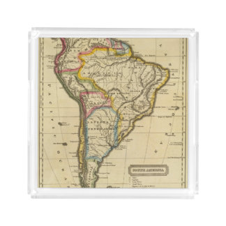 South America 7 Acrylic Tray