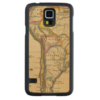 South America 7 Carved Maple Galaxy S5 Case