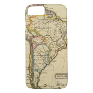 South America 7 iPhone 7 Case