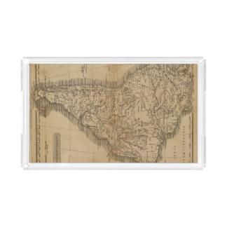 South America 8 Acrylic Tray