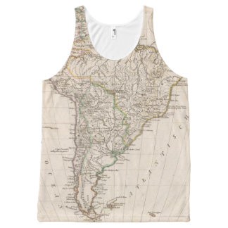 South America 8 All-Over Print Tank Top