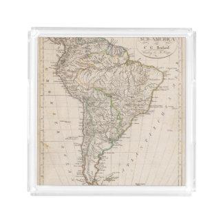 South America 9 Acrylic Tray