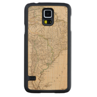 South America 9 Carved Maple Galaxy S5 Case