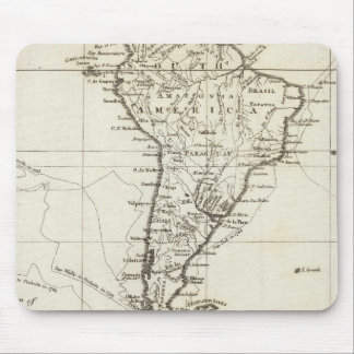 South America and the Adjacent Islands Mouse Pad