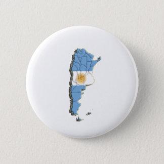 South America: Argentina 6 Cm Round Badge