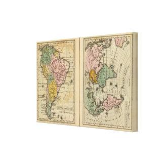 South America, Atlantic Ocean Canvas Print