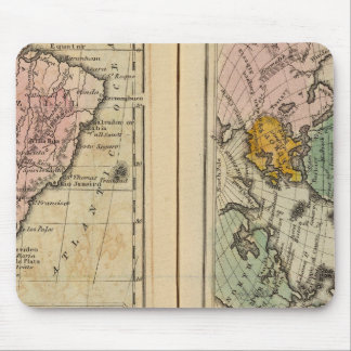South America, Atlantic Ocean Mouse Mat